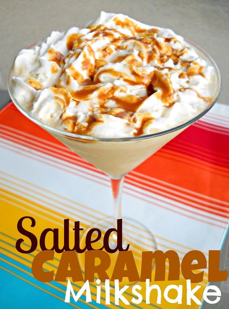 SteakNPotatoesKindaGurl: Salted Caramel Milkshake {Holiday Recipe Club ...