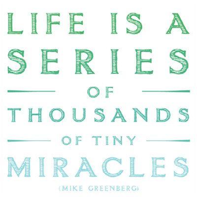 ~miracles~