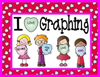 valentine's day graphing worksheets
