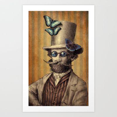 Doctor popinjay art print by eric fan 18 00