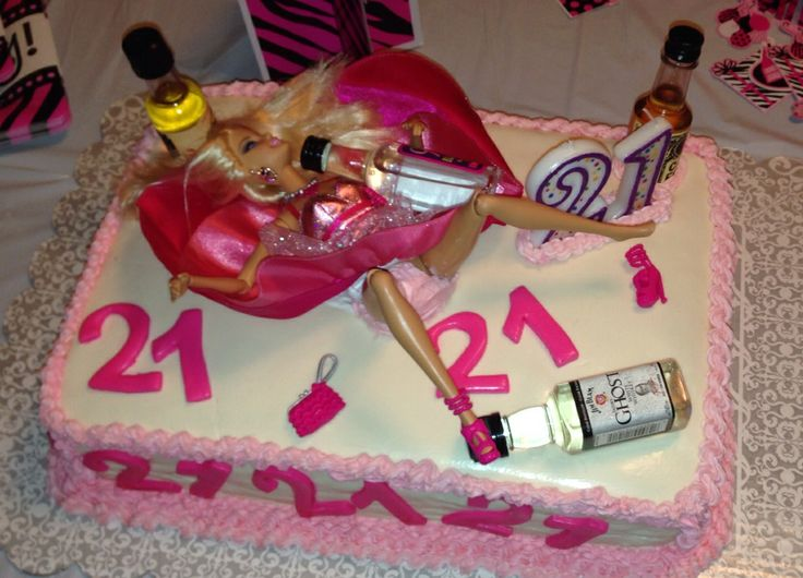 Drunk Barbie Cake Ideas