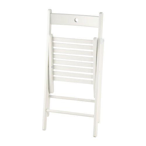 TERJE Folding Chair White