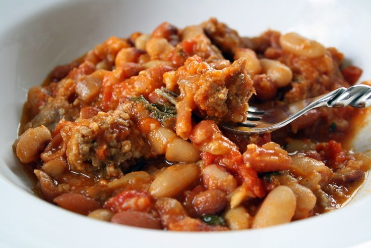 ... bean dip 13 bean cassoulet recipes dishmaps bean mixed bean cassoulet