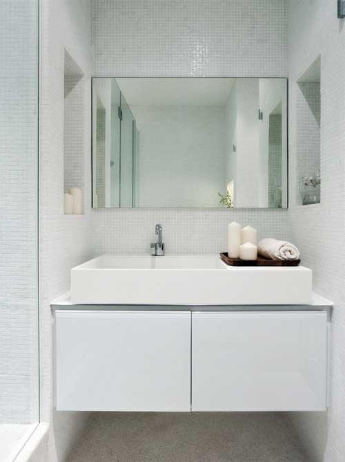 Simple bathroom vanity bathrooms pinterest