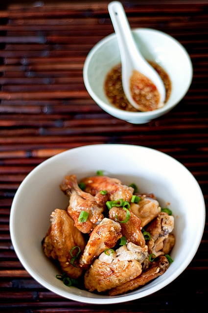 Chicken Wings w/ Momofuku Octo Vinaigrette (Loooove this one)