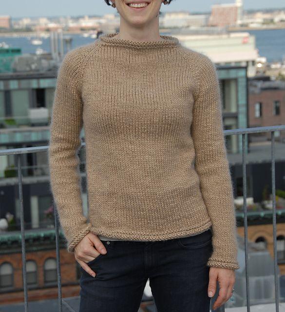 Knitting Pattern Raglan Cardigan : Top Down Raglan Sweater Knit Pattern - Bronze Cardigan