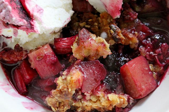 Blueberry-Rhubarb Granita Recipes — Dishmaps