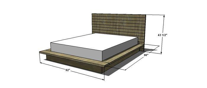 Plans to Build a Viva Terra Inspired King Sized Vintage Fir Platform ...