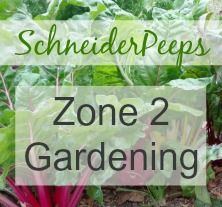 Zone 2 gardening ideas