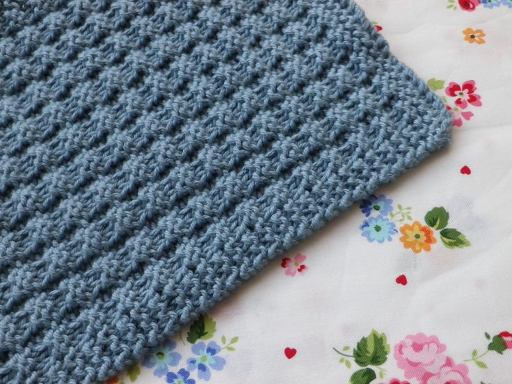 Waffle Knitting Pattern Dishcloth : Pin by Anne Van VLIET on Washcloths Pinterest