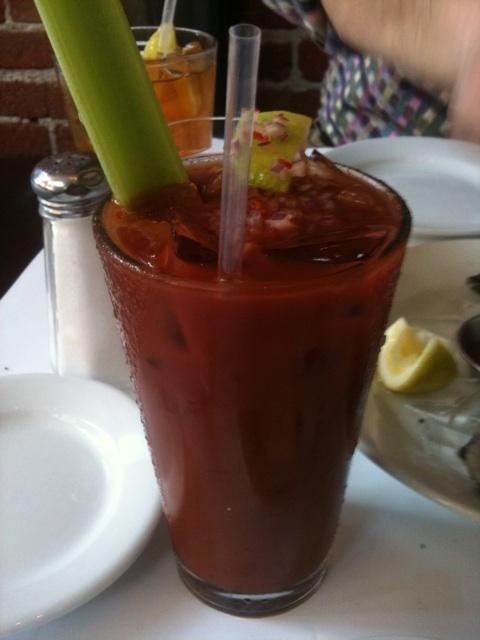 Zuni Café's balsamic bloody mary