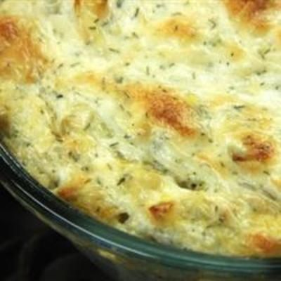 Chicken Artichoke Bacon Dip