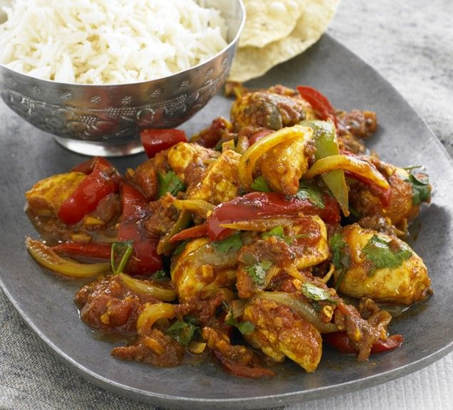 Chicken Jalfrezi - roommate's favorite Indian dish, want to try my ...