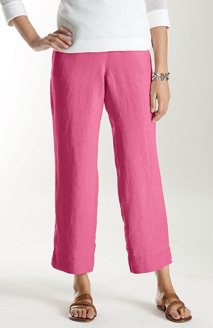 J. Jill Outlet cropped pants a...