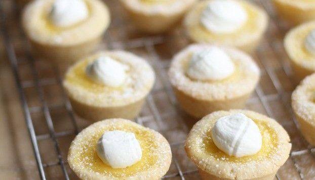 Sugar Cookie Lemon Tarts | food | Pinterest