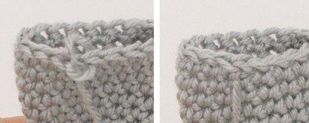 Crochet Fasten Off : Fastening Off