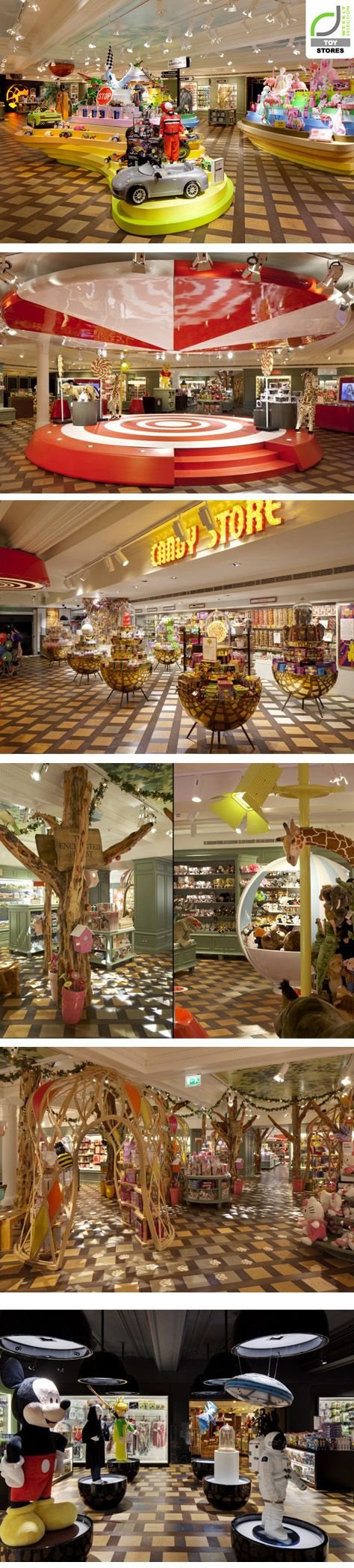 Harrods Toy Kingdom by Shed, London