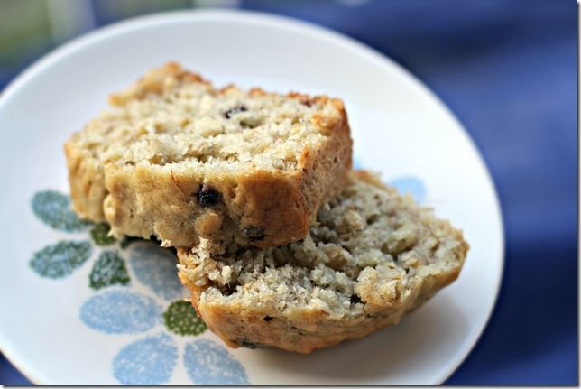 Banana oatmeal bread | Recipes - Breads | Pinterest