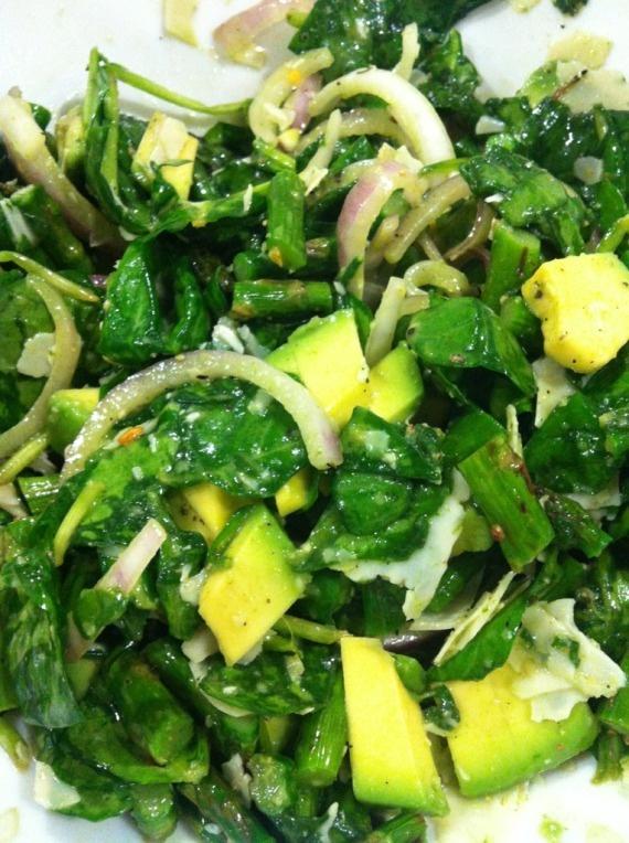 Asparagus and avocado salad | Food | Pinterest