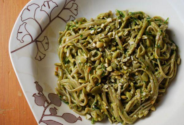 Creamy Parsley Pesto Noodles | My Recipes | Pinterest