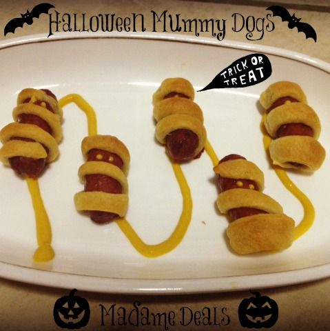 Halloween Mummy Dogs #halloween #recipes