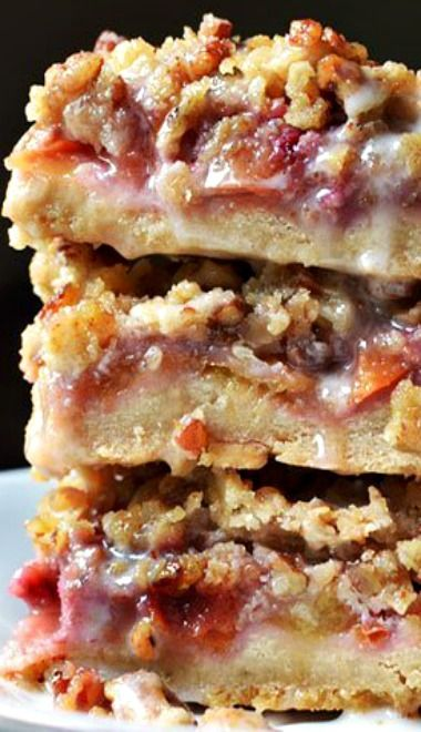 peach amp pecan oat crumble bars recipe they re sweet buttery chewy