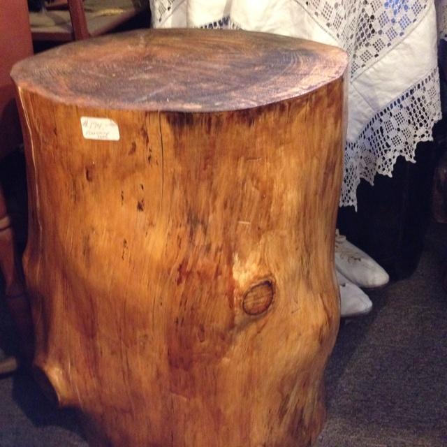 Tree Stump Side Table Coffee Tables Pinterest