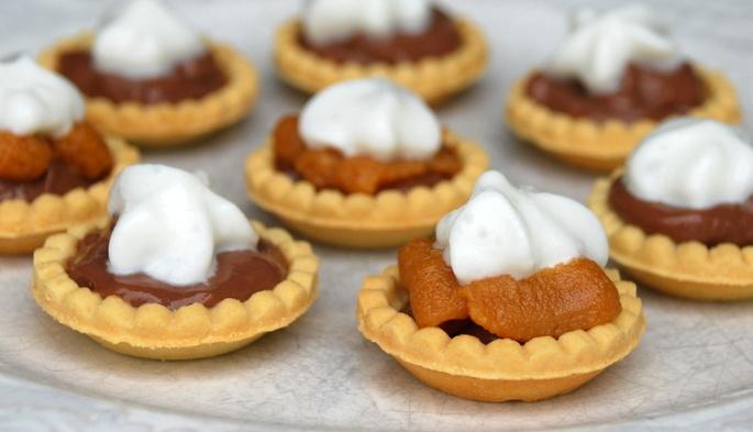 Mini chocolate peanut butter tarts | Life Is Short, Eat Dessert First ...
