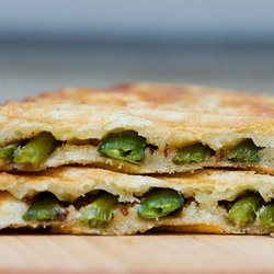 Asparagus Grilled Cheese.... MOTHER MAY I? yes nigggaaaaaa