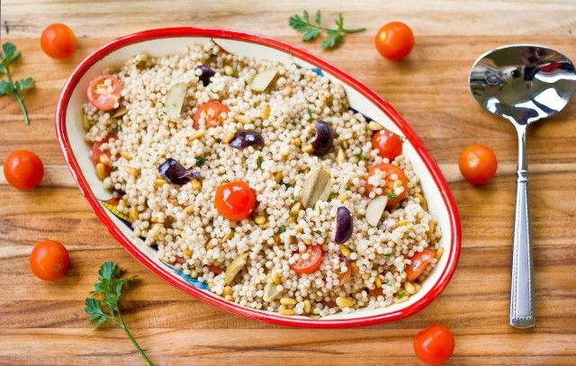 Israeli Couscous with Pine Nuts | For the Love of Veg! | Pinterest