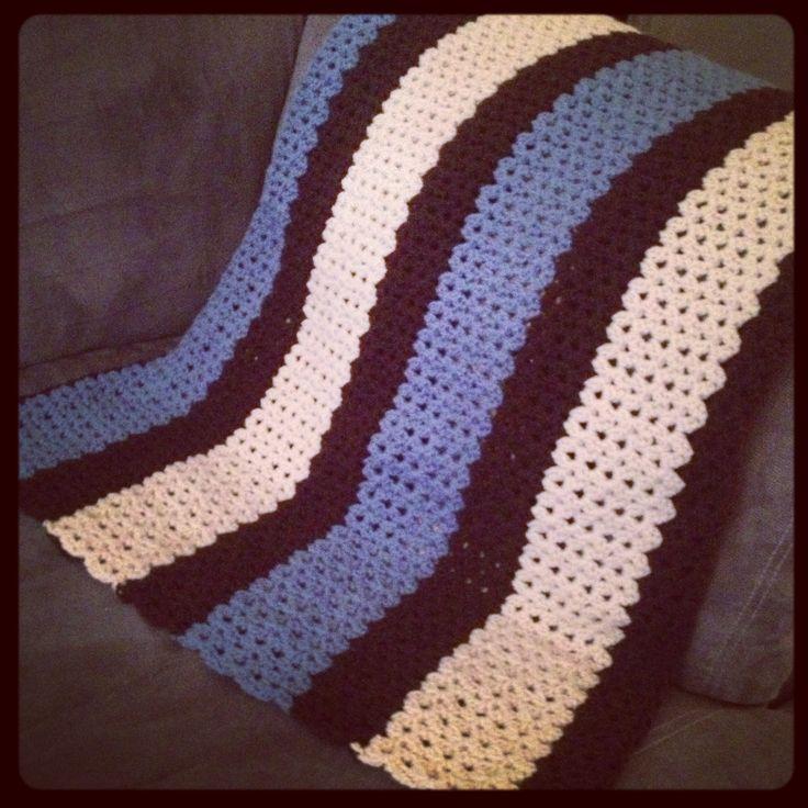 Cluster V stitch crochet this Pinterest
