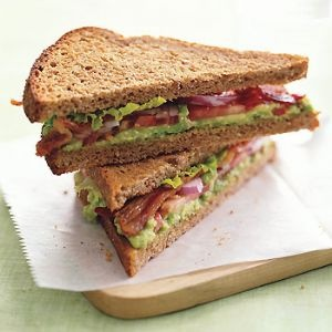 BLT with Avocado Spread | Soups and Sandwiches | Pinterest