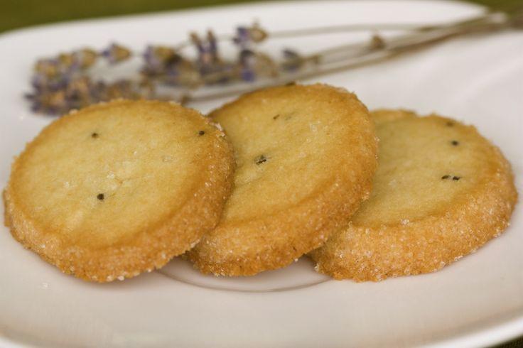 Honey Lavender Shortbread Cookies | Green Eggs and Ham | Pinterest