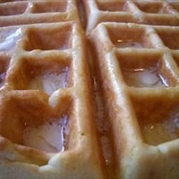 Best Waffles Ever on BigOven: This recipe produces light, crisp ...