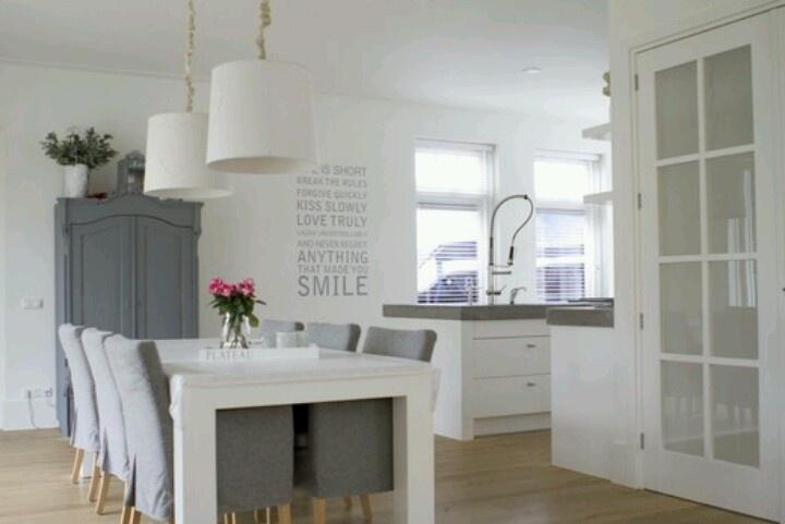 Vtwonen Keuken Inspiratie : Kamer keuken Architectuur Pinterest