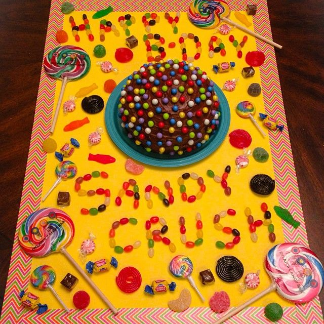candy crush theme party FUN