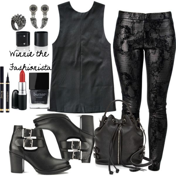 """EDGY"" by winniethefashionista on Polyvore"