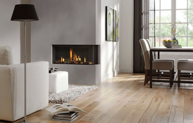 sided gas fireplace google search rustic homes fireplaces