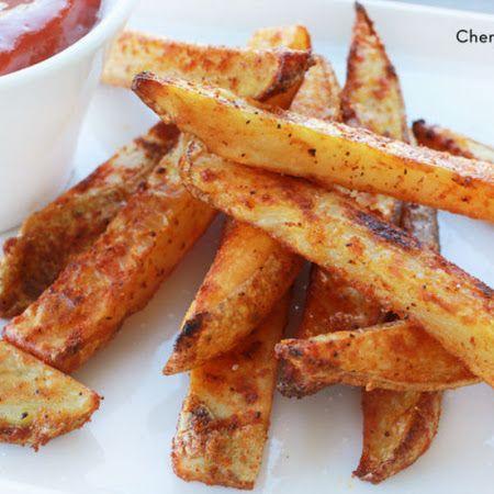 Crispy baked french fries | Nom Nom | Pinterest