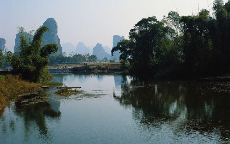 scenery wallpaper fond ecran paysage asiatique. Black Bedroom Furniture Sets. Home Design Ideas
