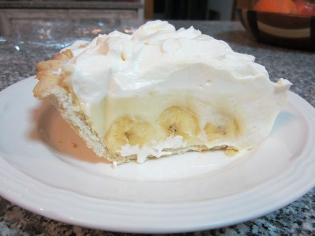 Banana Cream Pie - I'm not sure if I've ever had banana cream pie, bu...