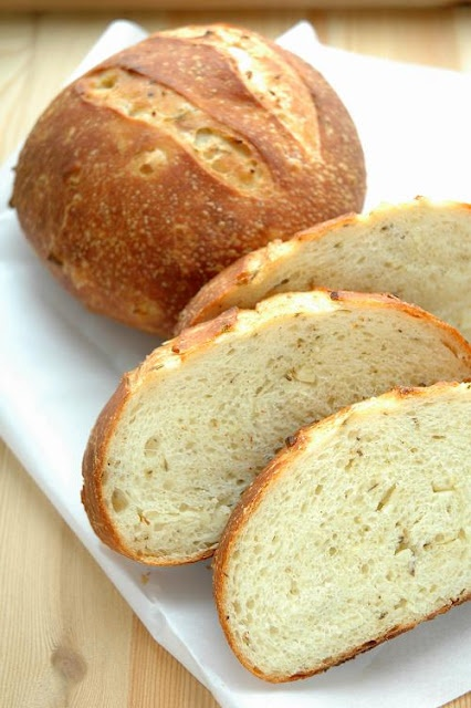 Potato rosemary garlic bread | I Knead Bread! | Pinterest