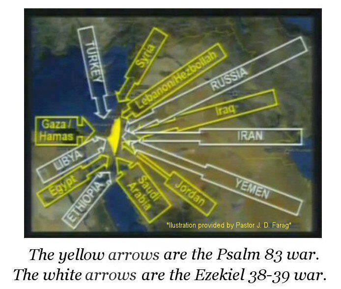 psalms 83 war ezekiel 38 39 war biblical maps notes