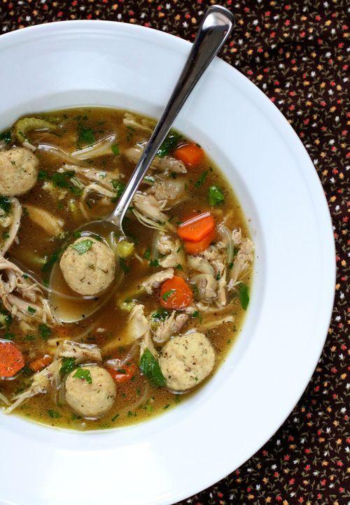 Matza Ball Soup   Favorite Recipes   Pinterest