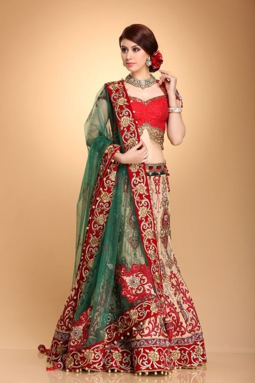 showroom indian wedding dress