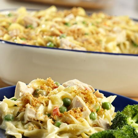 TUNA NOODLE CASSEROLE: ~ From Campbellskitchen.Com ~ This comforting ...