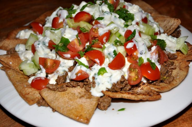 greek nachos from mark bittman. a million times yes!