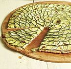Zucchini Tart with Lemon Thyme and Goat Cheese recipe - recommended by ...