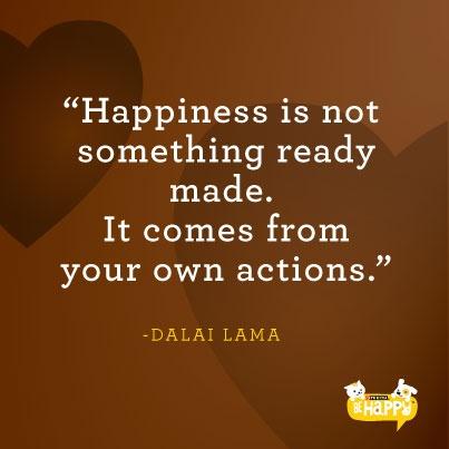 happy quotes dalai lama quote