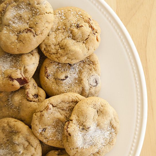 Maple Bacon Chocolate Chip Cookies. Maple cookies with hickory smoked ...